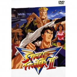 Street Fighter II dvd box dublado em portugues