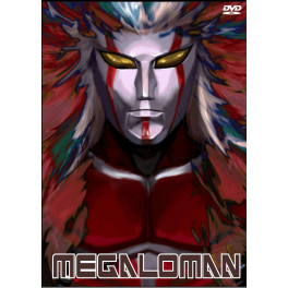 Megaloman dvd box duplo edição japonesa sem legenda