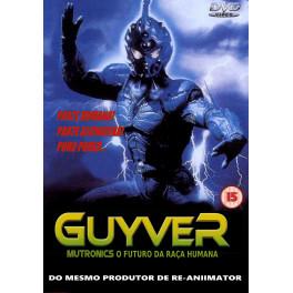 Guyver - Mutronics O Futuro da Raça Humana dvd dublado em portugues
