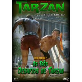 Os três desafios de Tarzan dvd dublado em portugues