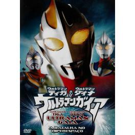 Ultraman Tiga, Dyna e Gaia - Batalha no Hiperespaço dvd dublado