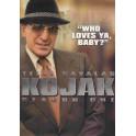 Kojak 1ª temporada dvd box dublado