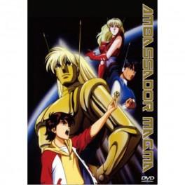 Ambassador Magma (Vingadores do Espaço) Anime dvd box legendado em portugues