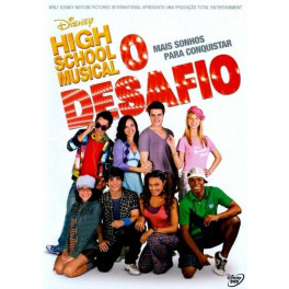 High School Musical - O Desafio dvd original lacrado