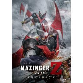 Mazinger Z Infinito dvd dublado em portugues