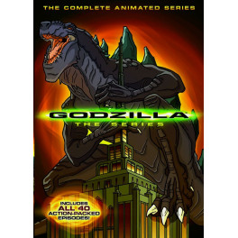 Godzilla The Series dvd box dublado em portugues