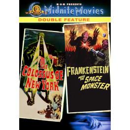O Monstro de Nova York  & Frankenstein Contra o Monstro Espacial dvd legendado em portugues