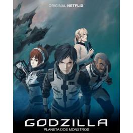 Godzilla Planeta dos Monstros (Trilogia Anime) BluRay dublado em portugues