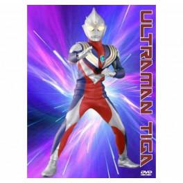 Ultraman Tiga dvd box dublado